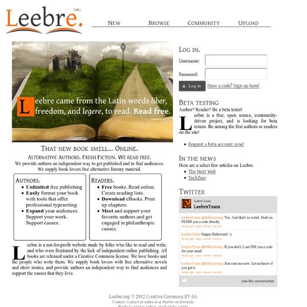 Read free - Leebre