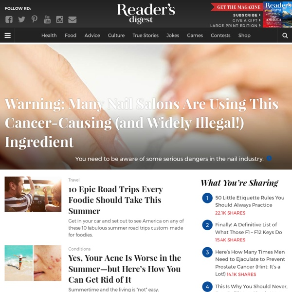 Reader's Digest: Official Site to Subscribe & Read Great Stuff