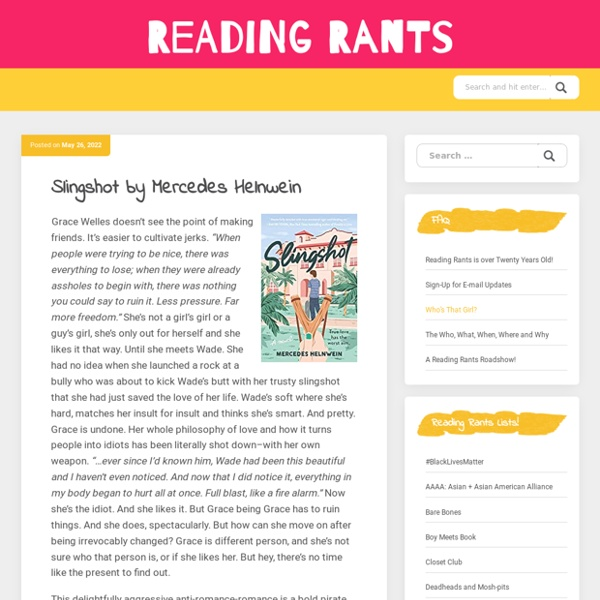 Reading Rants! Out of the Ordinary Teen Booklists!