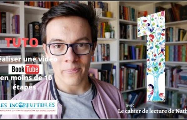 """(986) Tuto : """"Réaliser une vidéo BookTube en moins de 10 étapes"""" avec Le cahi..."""