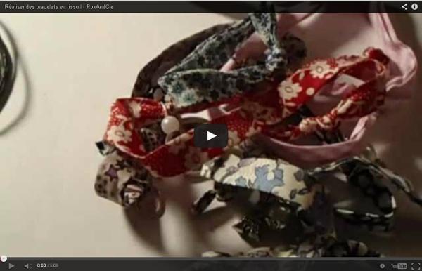 Réaliser des bracelets en tissu ! - RoxAndCie
