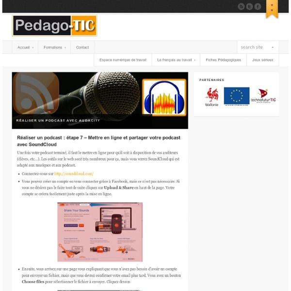 Réaliser un podcast : étape 7 – Mettre en ligne et partager votre podcast avec SoundCloud
