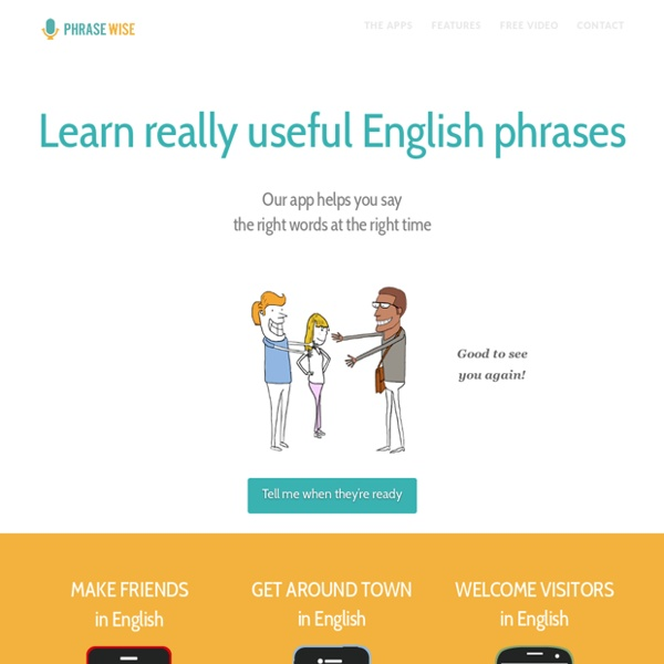 Learn really useful English phrases: Home