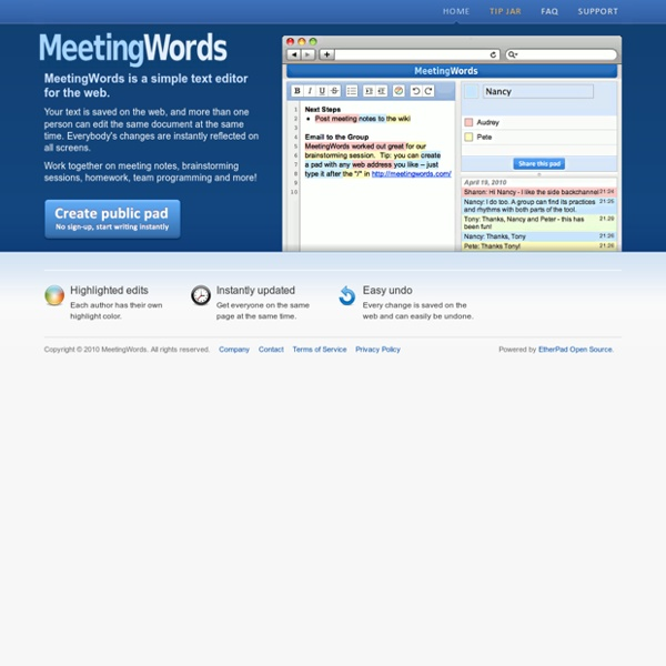 Realtime Collaborative Text Editing