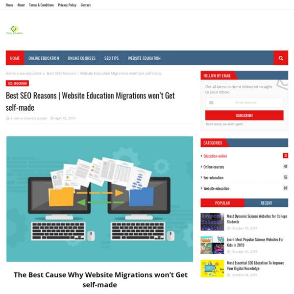 Website Education Migrations won't Get self-made