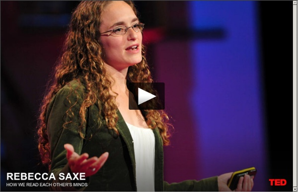 Rebecca Saxe: How we read each other's minds