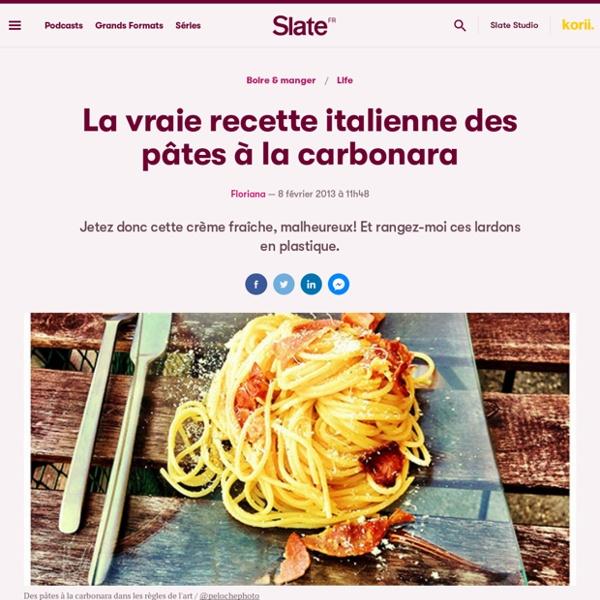 la vraie recette italienne des p 226 tes 224 la carbonara pearltrees