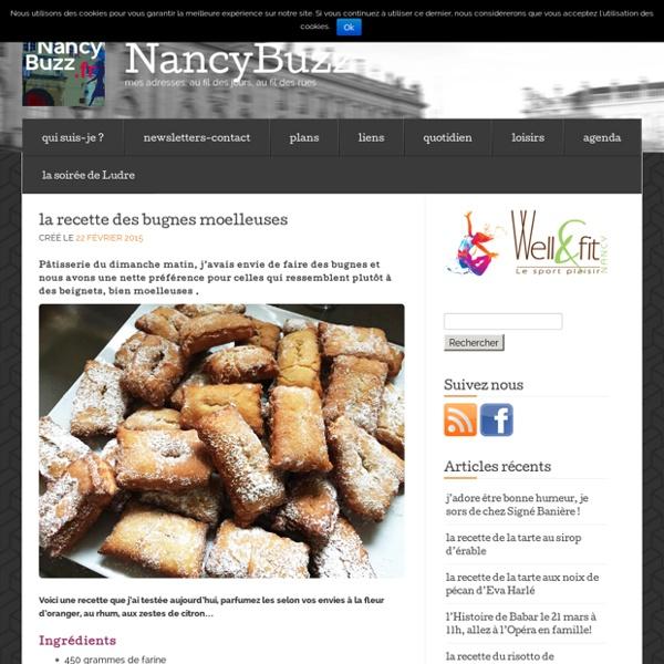 La recette des bugnes moelleuses « NancyBuzz