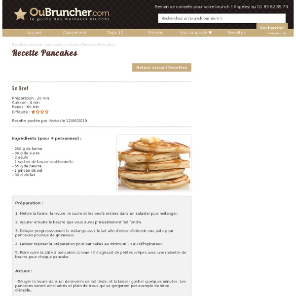 RecettePancakes- OuBruncher.com