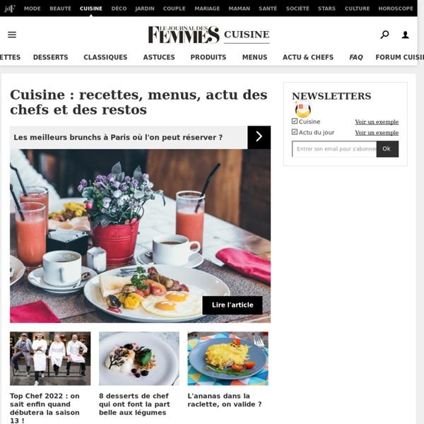 Recette de cuisine : 44 000 recettes de cuisine française et du monde