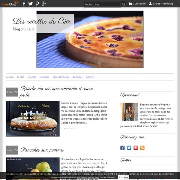 Les recettes de Céci - blog culinaire