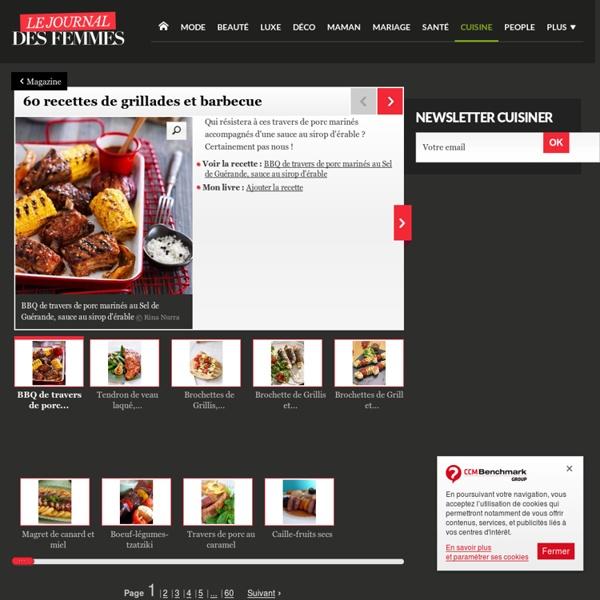 25 recettes de grillades et barbecue