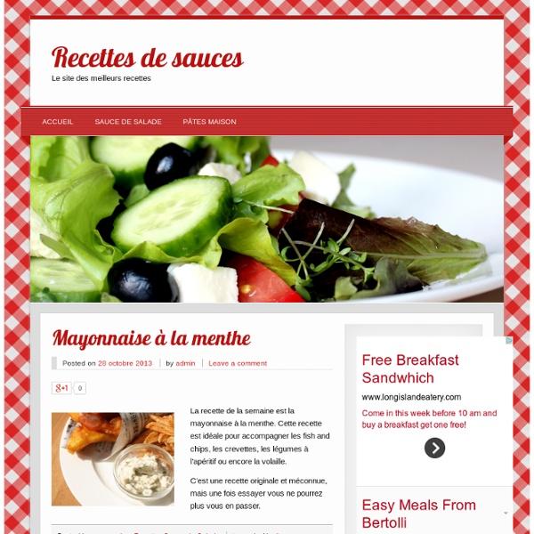 Le site des meilleurs recettes