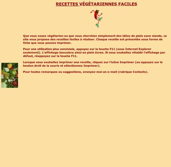 Recettes-vegetariennes.com