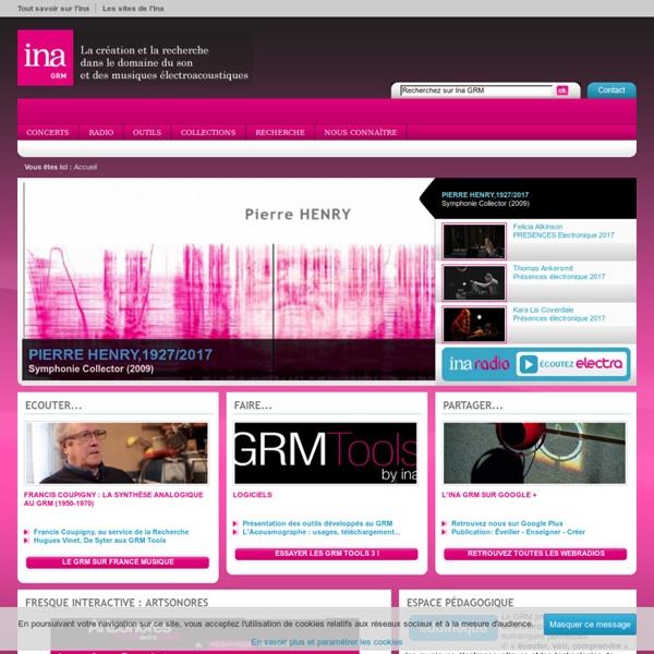 La création et la recherche dans le domaine du son et des musiques électroacoustiques