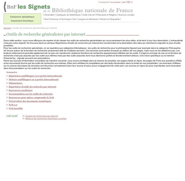 Signets BNF