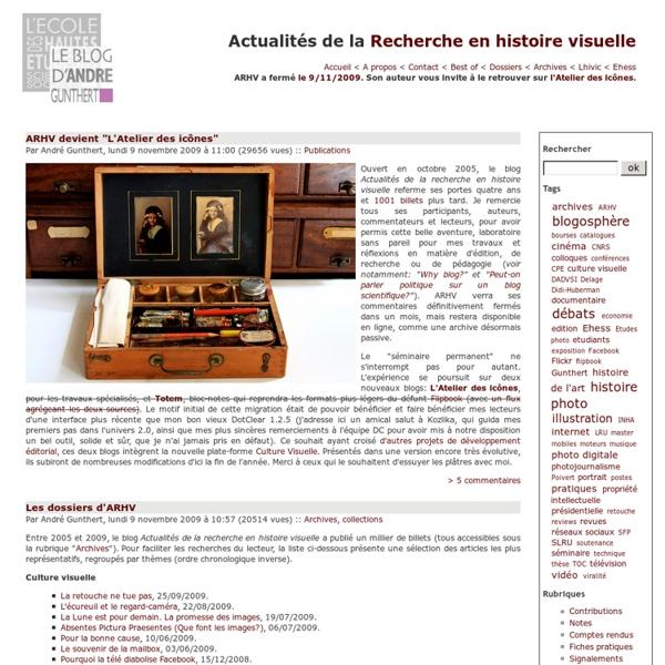 Recherche en histoire visuelle