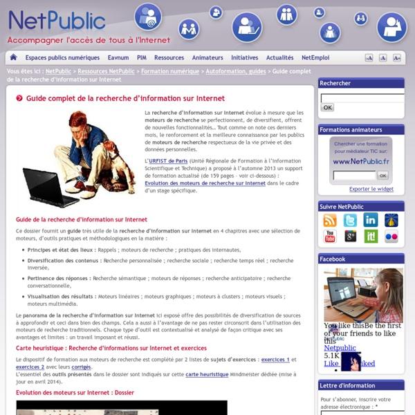 Guide complet de la recherche d'information sur Internet