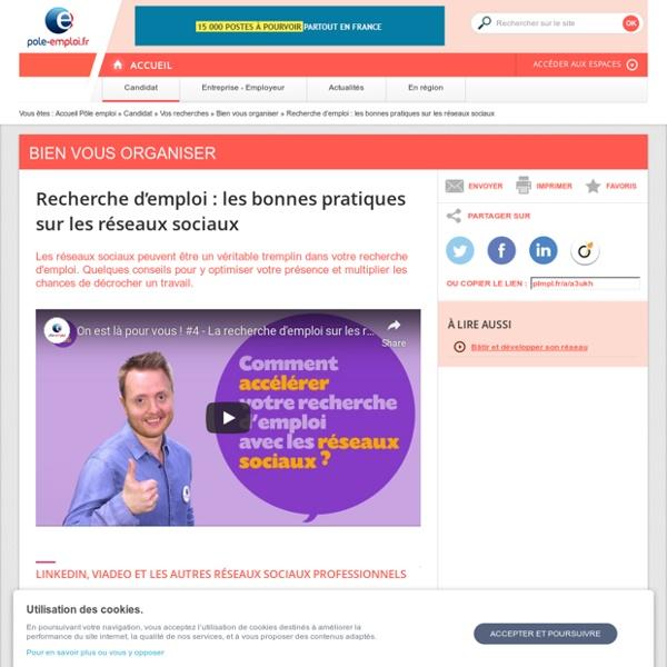 Recherche d'emploi : 11 bonnes pratiques sur les réseaux sociaux