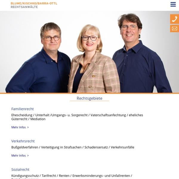 Start - Blume/Kischko Rechtsanwälte