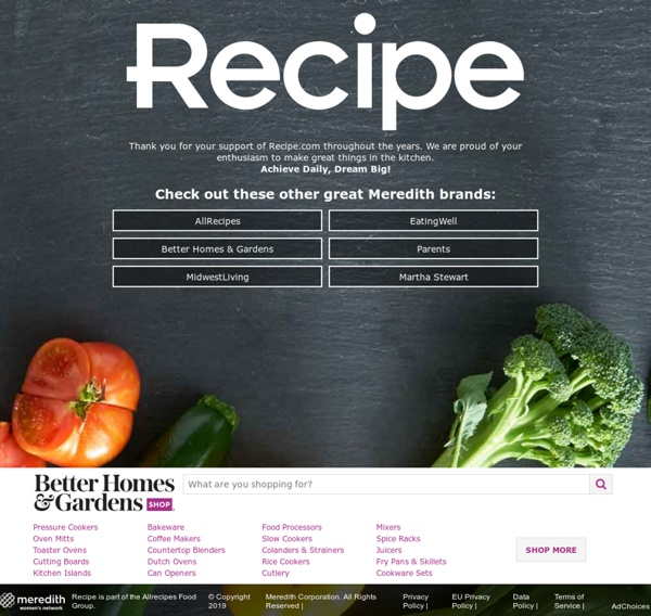 Quick Recipes, Easy Meal Ideas