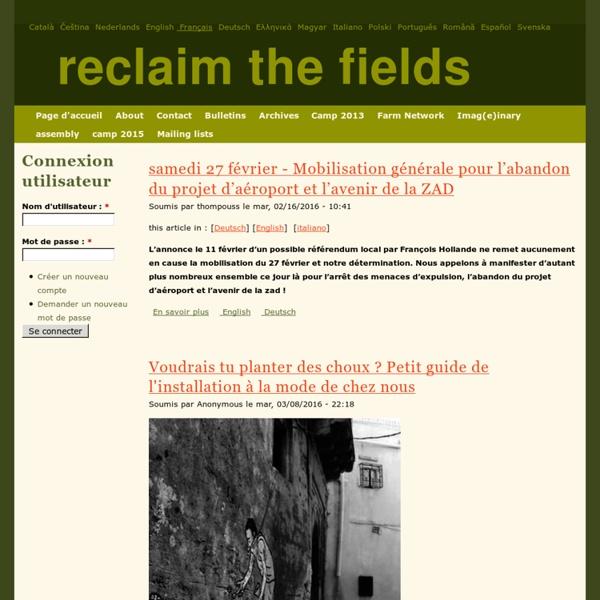 Reclaim the Fields