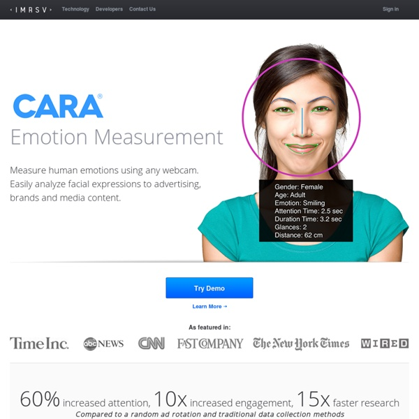 Immersive Labs - Smart Face Detection Software - Immersive Labs