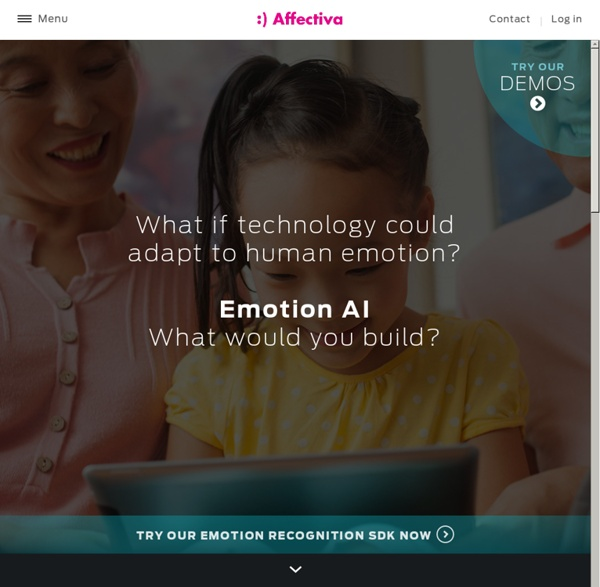 Emotion Recognition Software and Analysis - Affectiva