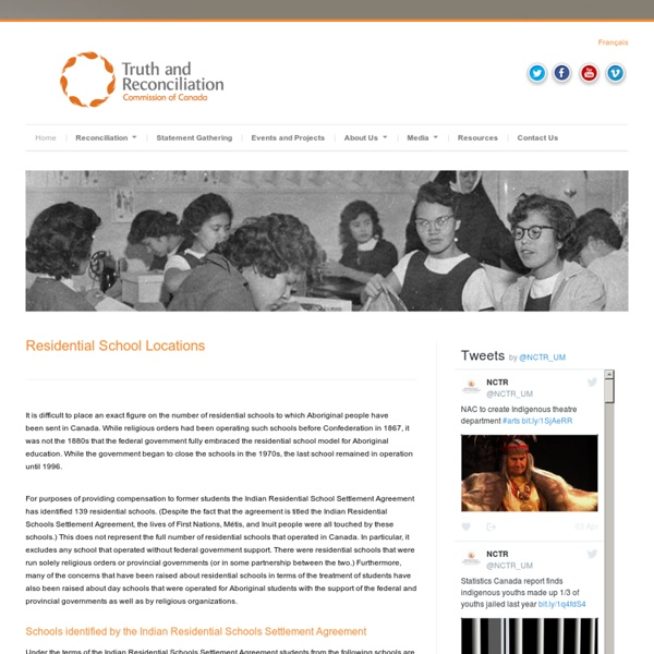 Truth and Reconciliation Commission of Canada (TRC)