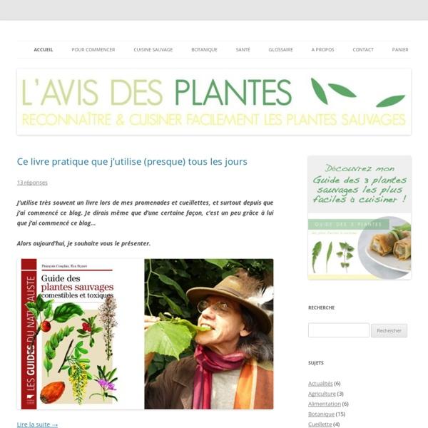 L'Avis Des Plantes - Un accès à la générosité du monde végétal
