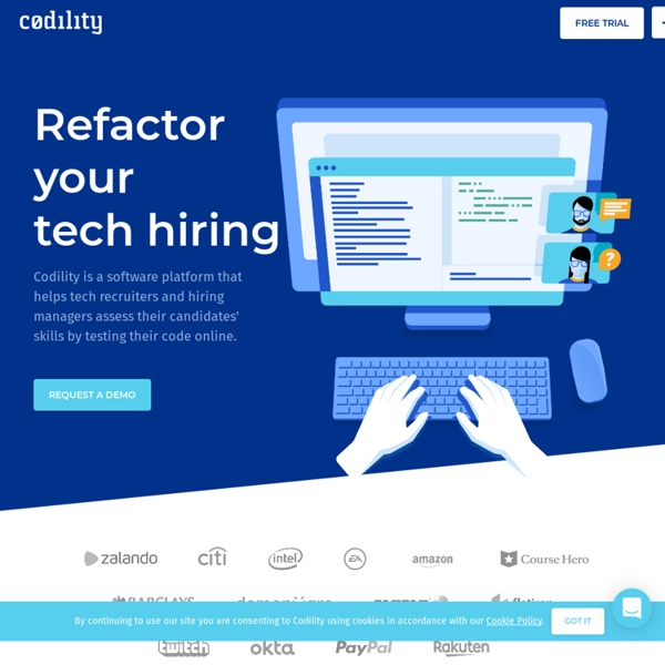 Automated tests of programming skills. Assessment of software developers. Recruitment software. Codility