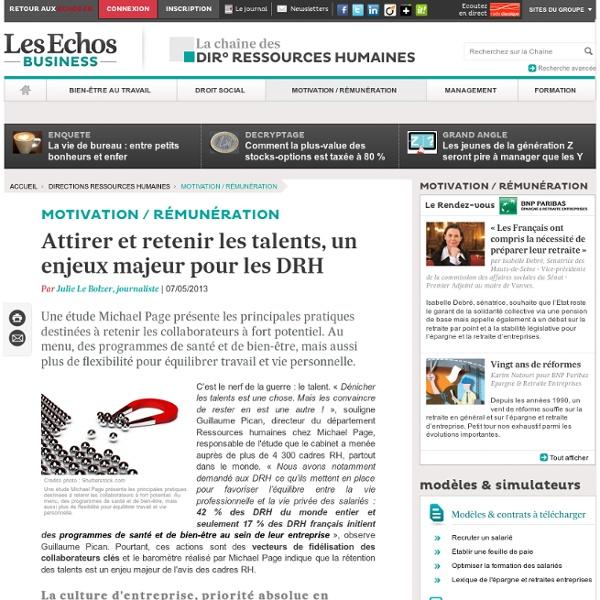 Recrutement - un enjeux majeur pour les DRH
