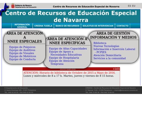 CREENA - Centro de Recursos de Educación Especial de Navarra