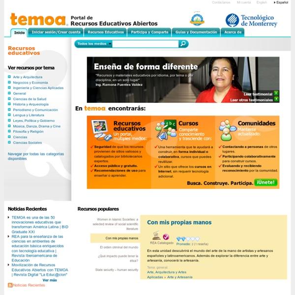 Portal de Recursos Educativos Abiertos (REA)