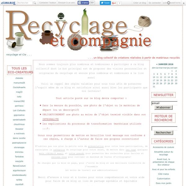 Recyclage et Cie . . .