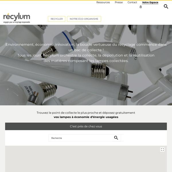 Savoir comment recycler, Collecte sélective, Recyclage du verre - malampe.org