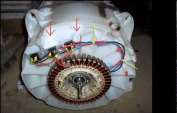 Free power from a recycled washing machine, generating enough to live off the grid