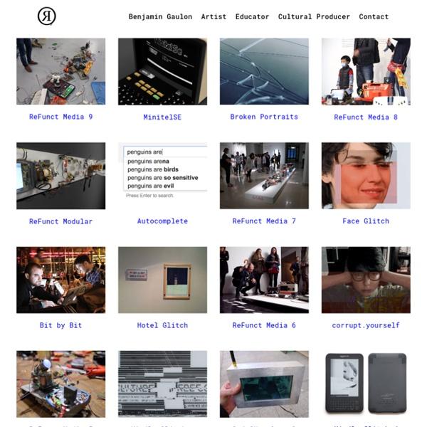 Hardware Hacking / Recycling / Physical Computing