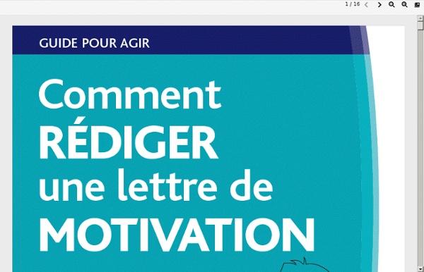 metiersducommerce fr  pdf  comment rediger une lettre de motivation pdf