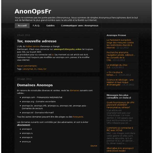 AnonOpsFr