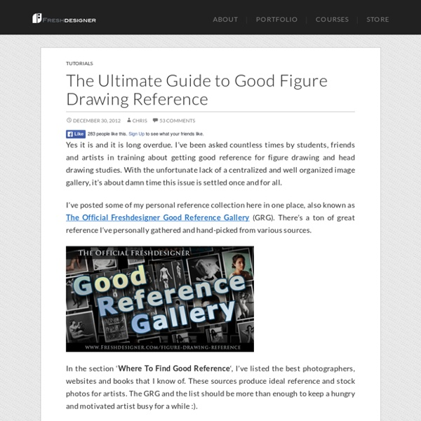 The Ultimate Guide to Good Figure Drawing Reference - Freshdesigner.com