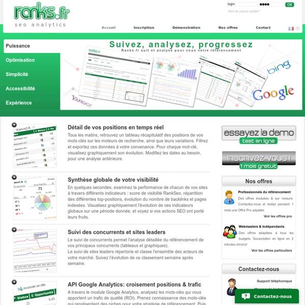 Google Sitemap Schema: Logiciel Référencement Google : Suivi Positions & Analyses