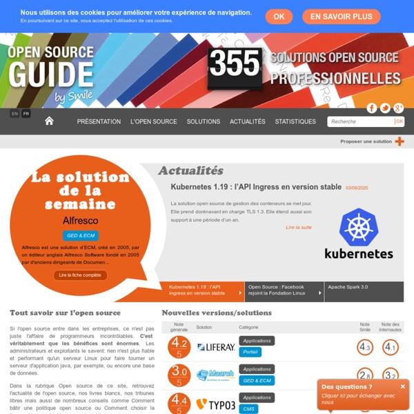 Guide Open Source : Le référentiel des solutions open source professionnelles
