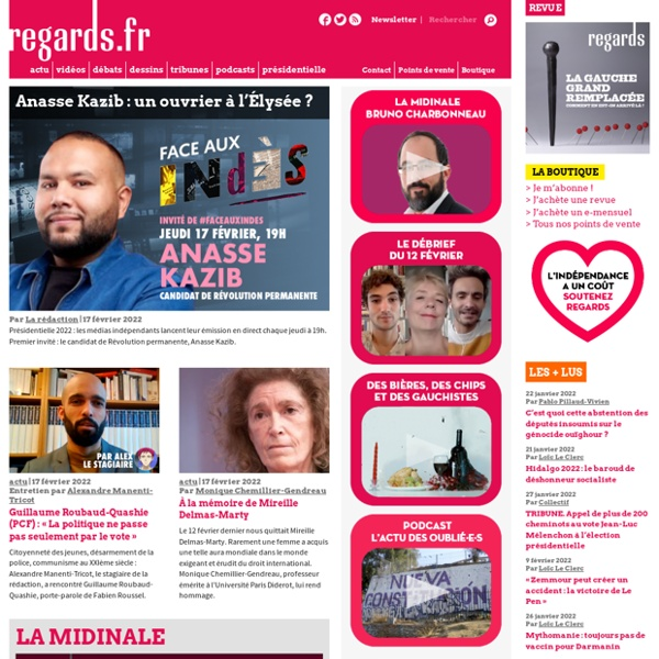 Regards.fr - La fabrique de la politique