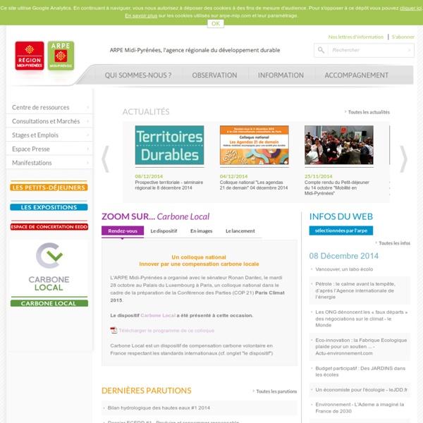 Habitat social : le colloque ARPE - Agence Régionale Pour l'Environnement de Midi-Pyrénées