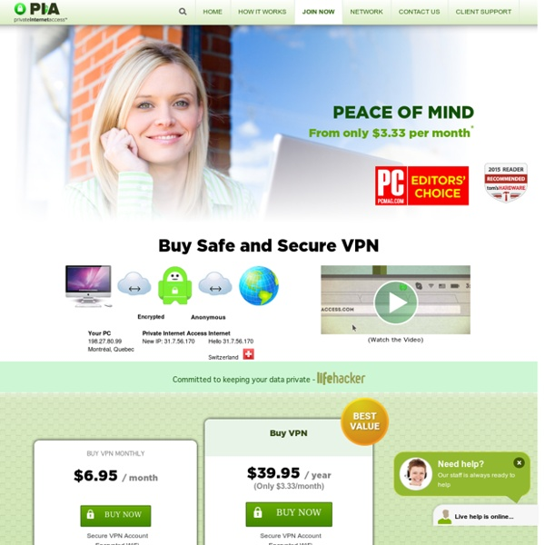 Register for Anonymous VPN Services