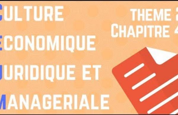 CEJM - Th2 Chap4 : La régulation des activités économiques par le droit