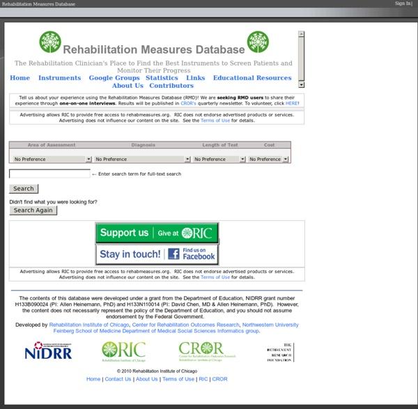 Www.rehabmeasures.org/default.aspx