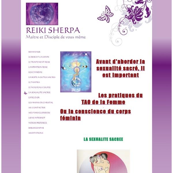 REIKI SHERPA - LA SEXUALITE SACREE