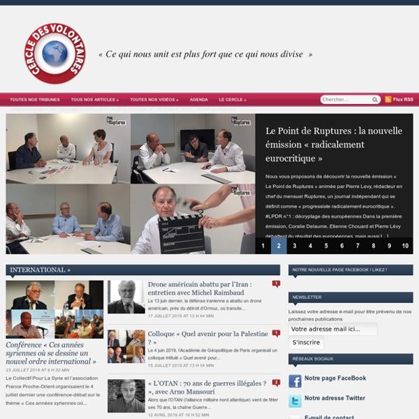 Média de réinformation alternatif, francophone et citoyen